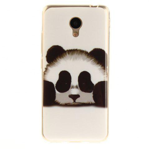 Store Panda Soft Clear IMD TPU Phone Casing Mobile Smartphone Cover Shell Case for Meizu M5c / 5C / A5 Charm Blue A5