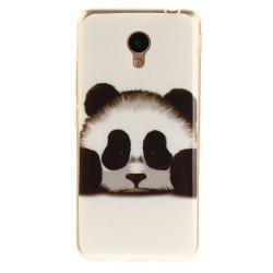 Panda Soft Clear IMD TPU Phone Casing Mobile Smartphone Cover Shell Case for Meizu M5c / 5C / A5 Charm Blue A5 -