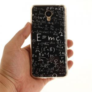 Mathematical Formula Soft Clear IMD TPU Phone Casing Mobile Smartphone Cover Shell Case for Meizu M5c / 5C / A5 -
