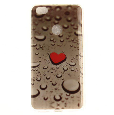 Shop Heart Line of Water Droplets Soft Clear IMD TPU Phone Casing Mobile Smartphone Cover Shell Case for Xiaomi Redmi Note 5A