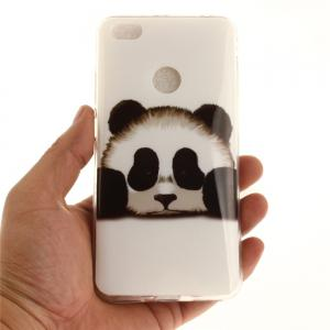 Panda Soft Clear IMD TPU Phone Casing Mobile Smartphone Cover Shell Case for Xiaomi Redmi Note 5A Prime -