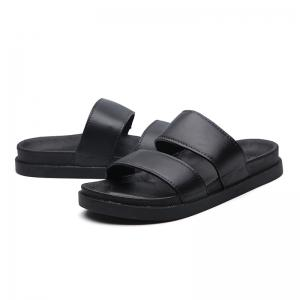 Fashion Lovers Black and White Slippers -