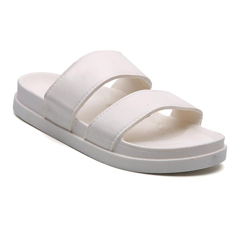 Discount Fashion Lovers Black and White Slippers