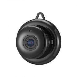 720P MINI IP Camera Wifi Two-Way Voice Slot Night Vision Home Security 3.6MM Lens Visual Angle 85 Degrees -