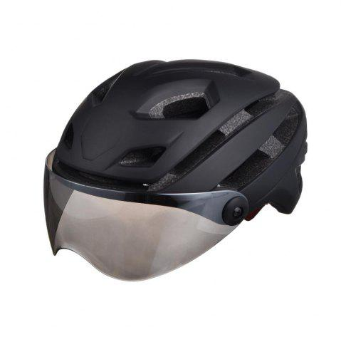 Latest L-002 Bicycle Helmet Bike Cycling Adult Adjustable Unisex Safety with Visor Len