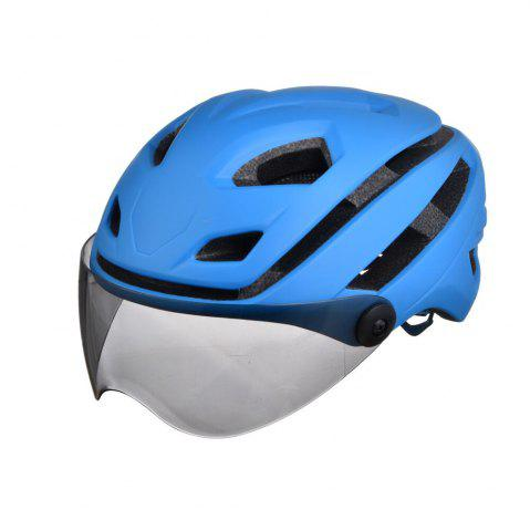 Chic L-002 Bicycle Helmet Bike Cycling Adult Adjustable Unisex Safety with Visor Len