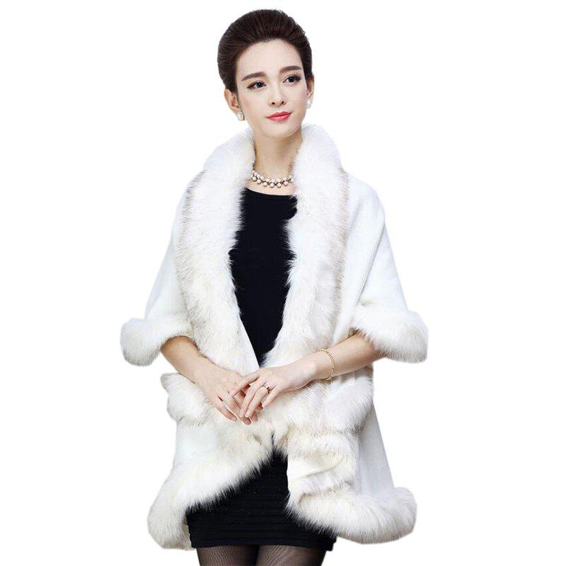 Affordable Women's Casual Daily  Faux Fur Coat