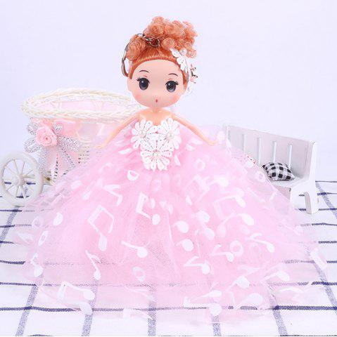 Affordable 18CM Wedding Dress creative Cartoon  Doll Toy
