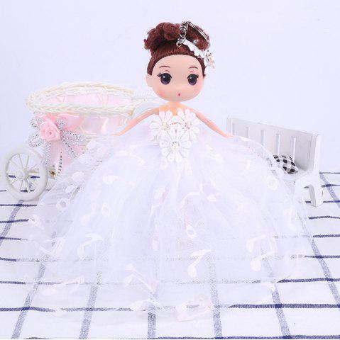 Store 18CM Wedding Dress creative Cartoon  Doll Toy