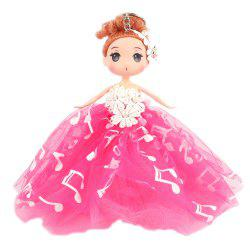 18CM Wedding Dress creative Cartoon  Doll Toy -