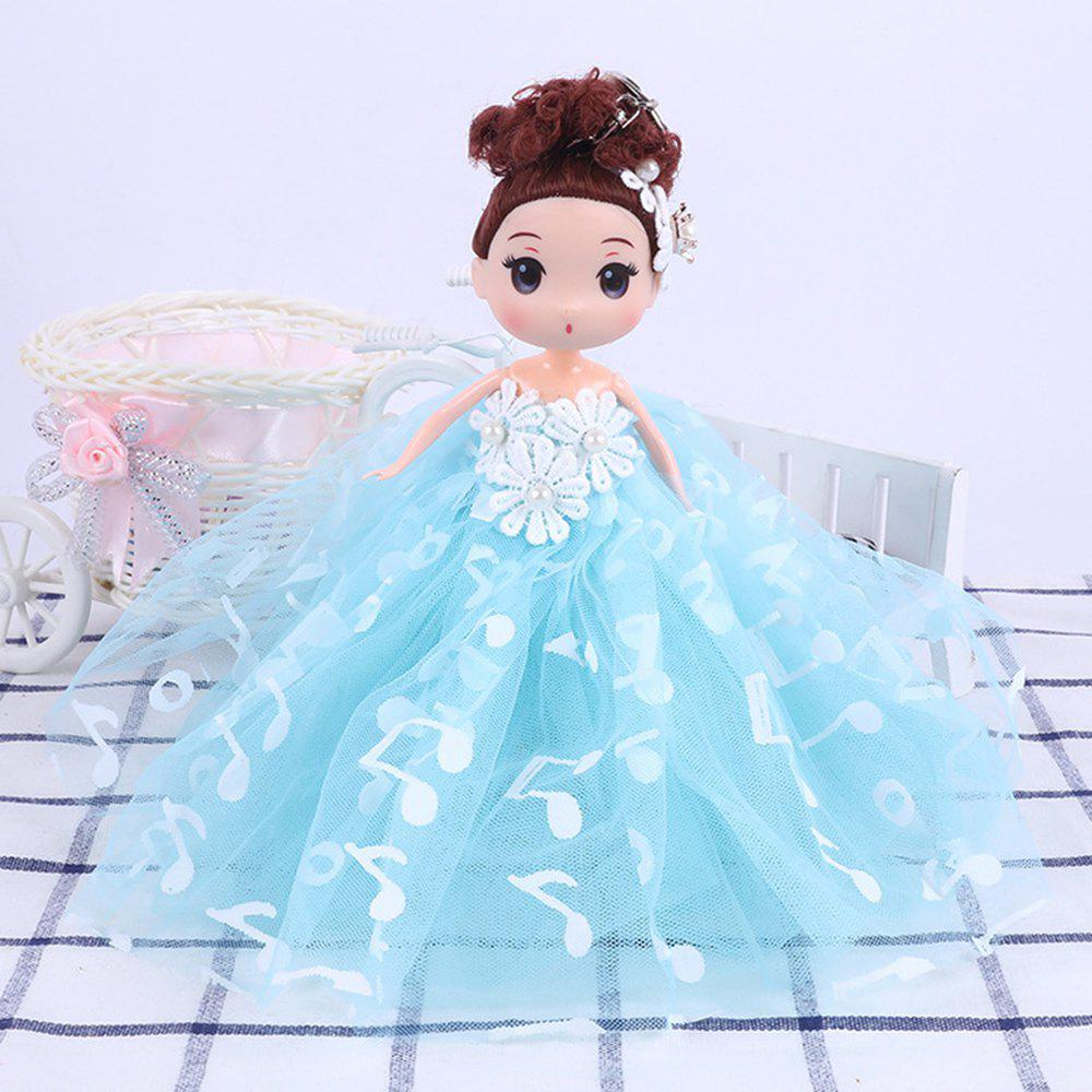 Online 18CM Wedding Dress creative Cartoon  Doll Toy