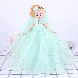 26CM Romantic Wedding Dress Doll Toy Pendant -