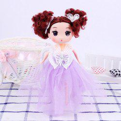 18CM Butterfly Wedding Dress Princess Doll Pendant -