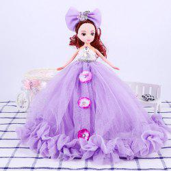 26CM Wedding Dress Lace Girl Doll Toy Pendant -