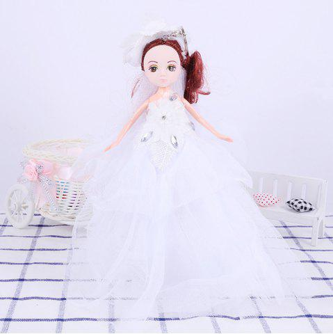 Unique 26CM Wedding Doll Princess Keychain Hanging Toy