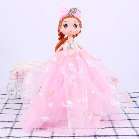 Latest 26CM Printed Camouflage Doll Wedding Dress Toy Pendant