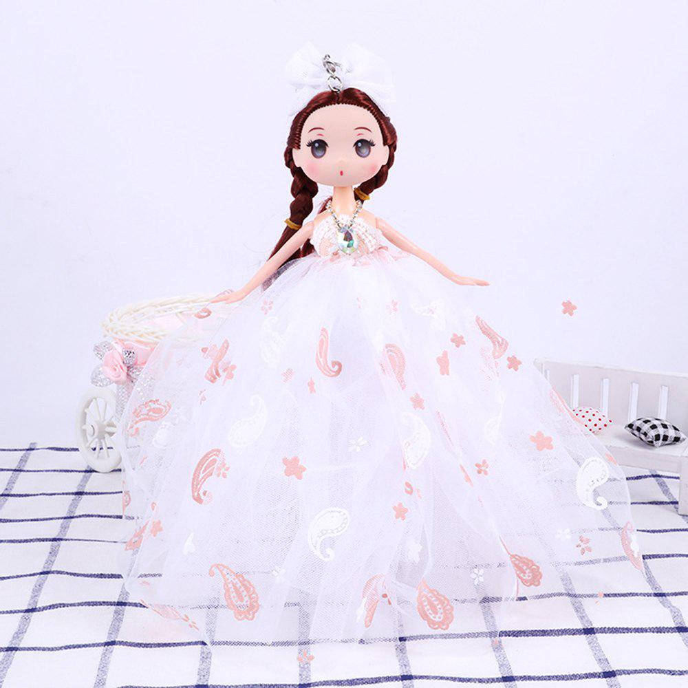 Fashion 26CM Printed Camouflage Doll Wedding Dress Toy Pendant