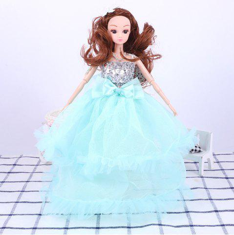Discount 30CM Large Wedding Dress Doll Toy Pendant
