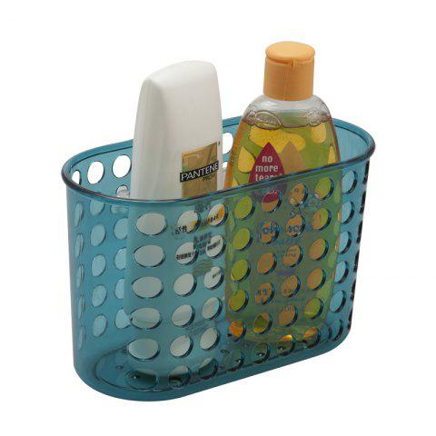 Affordable Bathroom Corner Storage Basket Shower Rack Soap Shelf Organiser Cup Tidy Suction