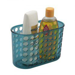 Bathroom Corner Storage Basket Shower Rack Soap Shelf Organiser Cup Tidy Suction -