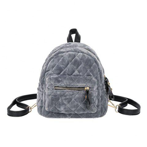 Discount New Velvet Mini Shoulder Bag Female Multi-Functional Fashion Backpack