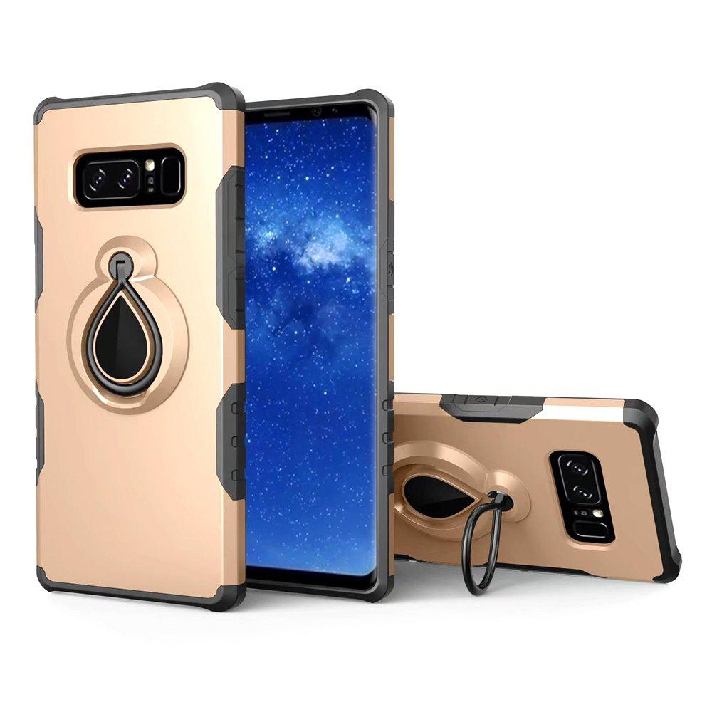 Outfit Magnetic Absorption Water Ring Stent Case for Samsung Note 8