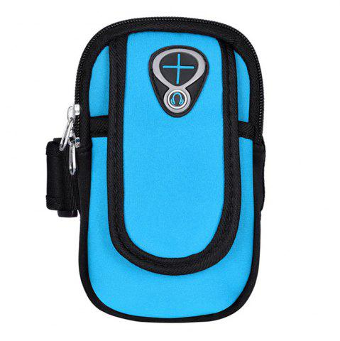 Unique Sweatproof Sports Neoprene Arm Bag Armband Package with Mobile Phone MP3 Wallet Key Card Money Holder