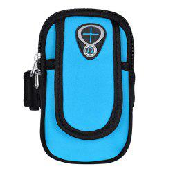 Sweatproof Sports Neoprene Arm Bag Armband Package with Mobile Phone MP3 Wallet Key Card Money Holder -