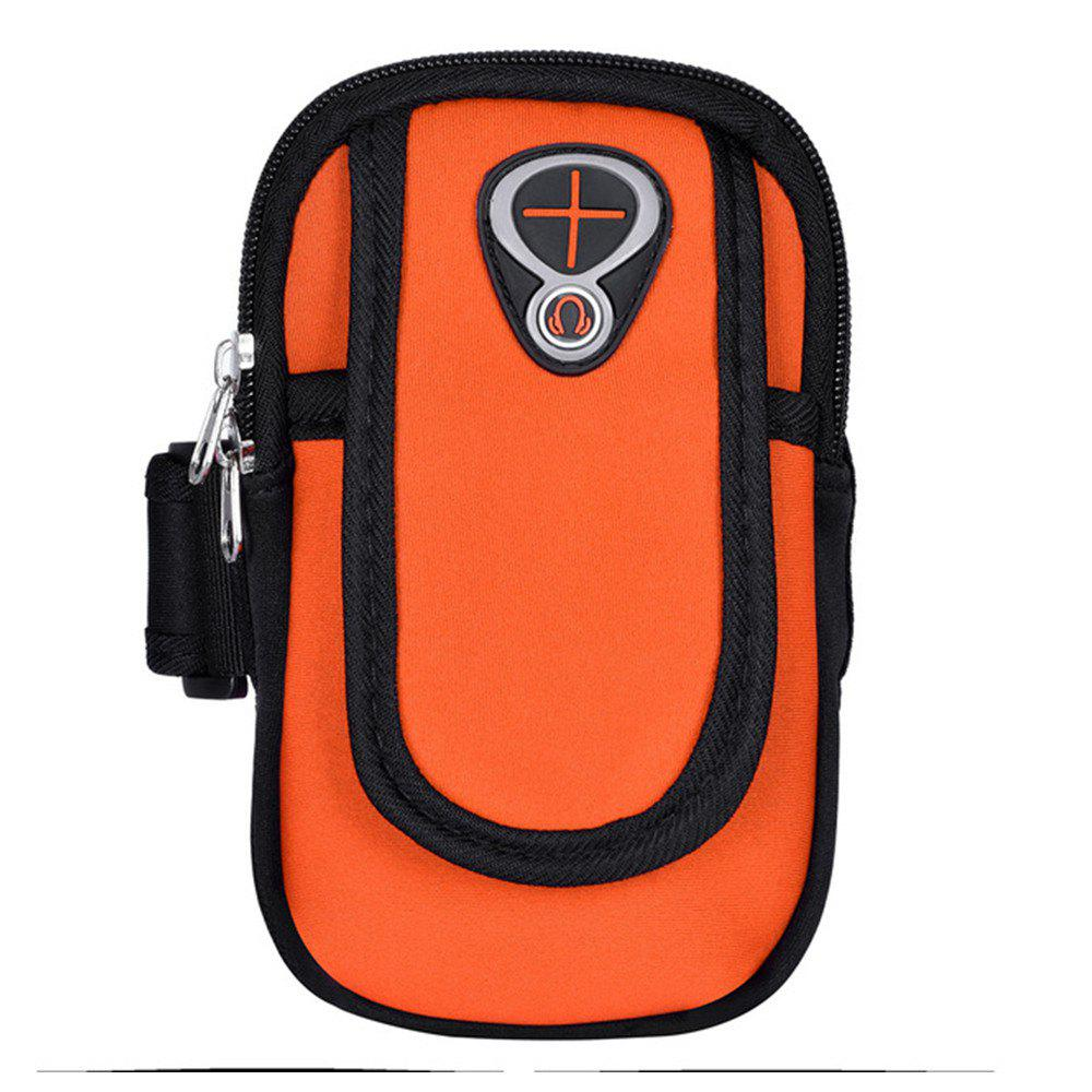 Fashion Sweatproof Sports Neoprene Arm Bag Armband Package with Mobile Phone MP3 Wallet Key Card Money Holder