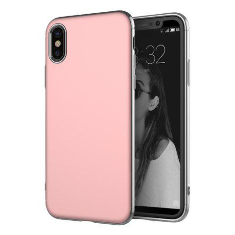 Discount Luxury 3in1 Design Electroplated Matte Hard PC Back Cover for iPhone X Case