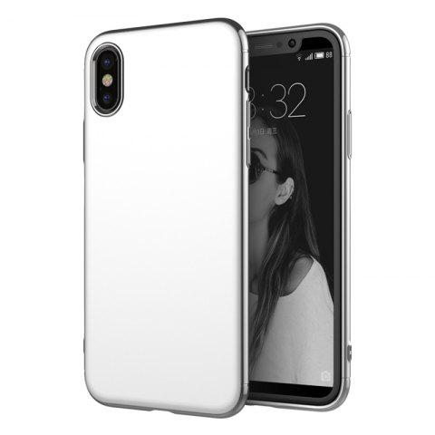 Shop Luxury 3in1 Design Electroplated Matte Hard PC Back Cover for iPhone X Case