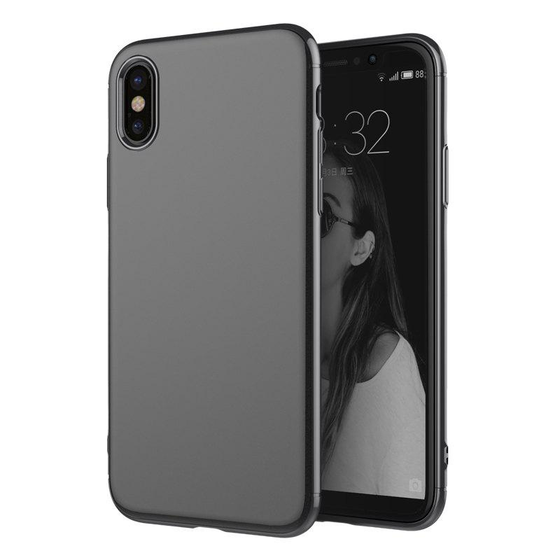 Fancy Luxury 3in1 Design Electroplated Matte Hard PC Back Cover for iPhone X Case