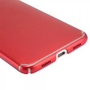 Embossed Back Cover Solid Color Hard PC for Huawei Head 5 Case -