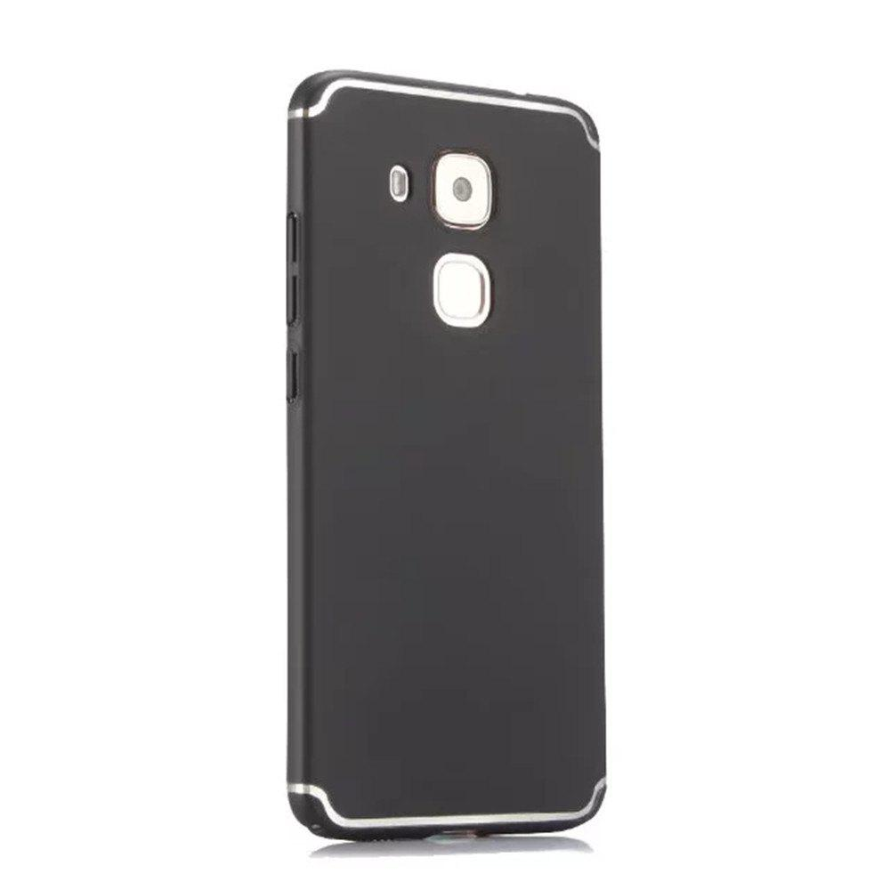 Online Embossed Back Cover Solid Color Hard PC for Huawei Head 5 Case