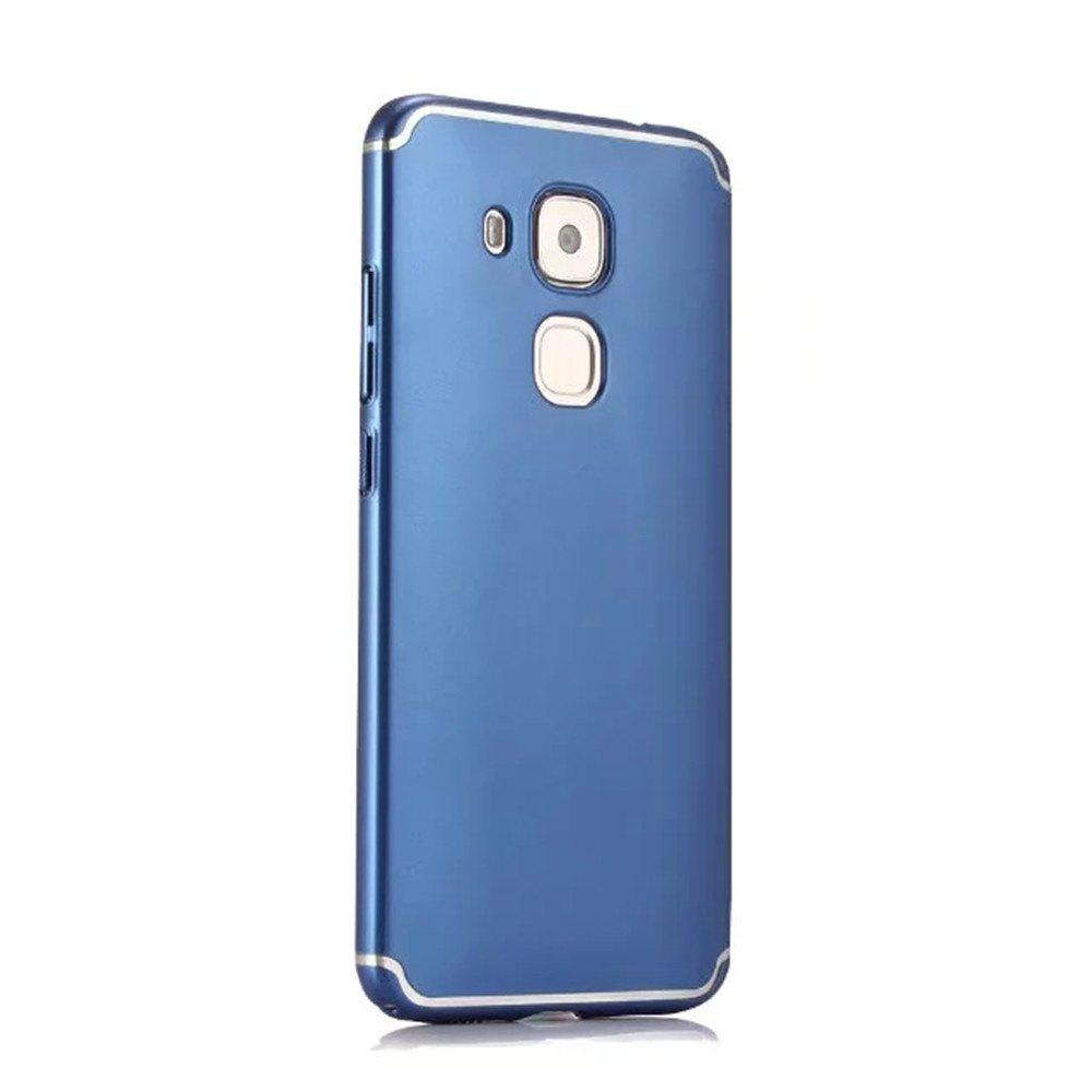 Shop Embossed Back Cover Solid Color Hard PC for Huawei Head 5 Case