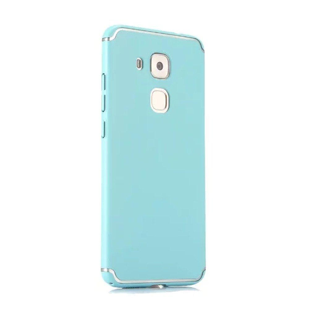 Unique Embossed Back Cover Solid Color Hard PC for Huawei Head 5 Case