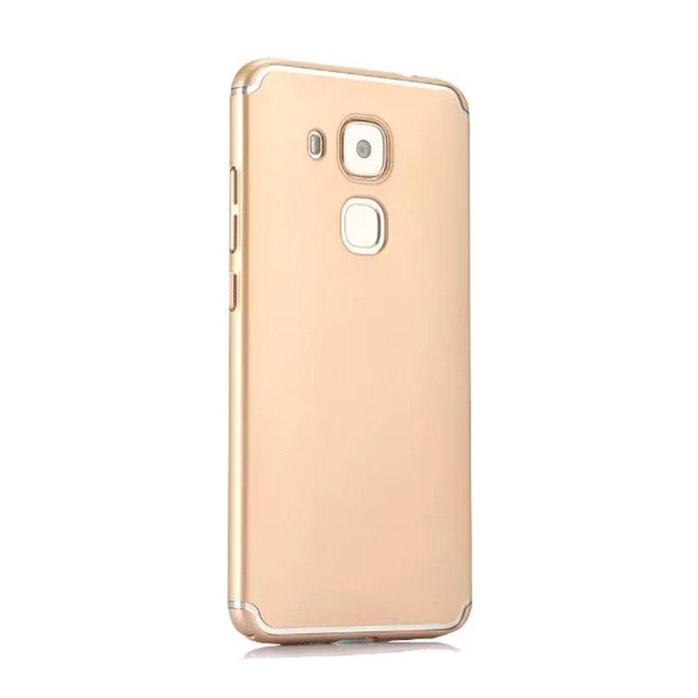 Fashion Embossed Back Cover Solid Color Hard PC for Huawei Head 5 Case