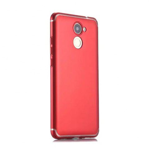 Unique Embossed Back Cover Solid Color Hard PC for Huawei Enjoy 7 Plus Case