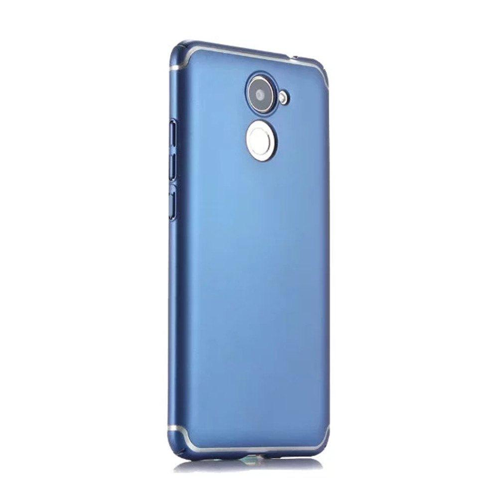 Fancy Embossed Back Cover Solid Color Hard PC for Huawei Enjoy 7 Plus Case