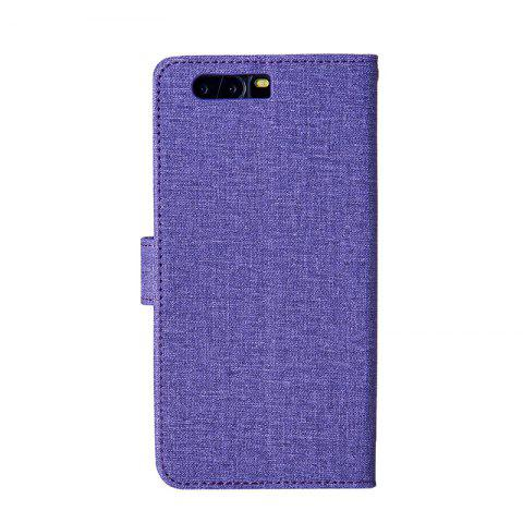 Unique Solid Linen Leather Case with Comfortable Feel for Huawei P10 Plus