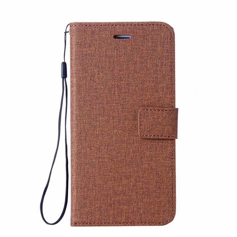 New Solid Linen Leather Case with Comfortable Feel for Huawei P10 Plus