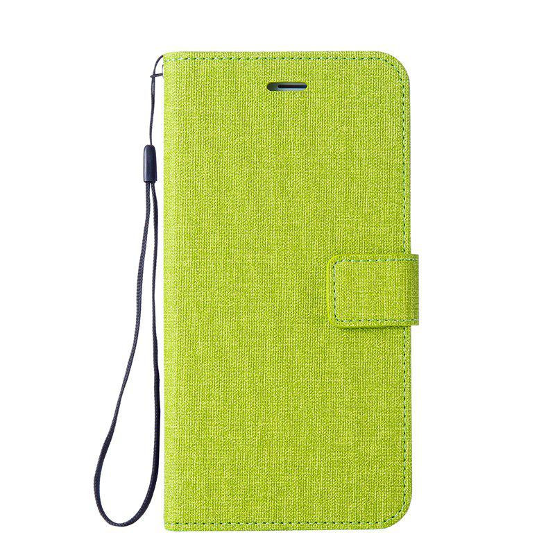 Shop Solid Linen Leather Case with Comfortable Feel for Huawei P10 Plus