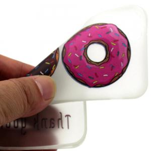 Donuts Luminous Ultra Thin Slim Soft TPU Silicone Case for iPhone 6 Plus / 6s Plus -