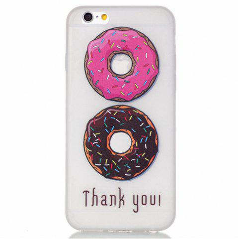 Fancy Donuts Luminous Ultra Thin Slim Soft TPU Silicone Case for iPhone 6 Plus / 6s Plus