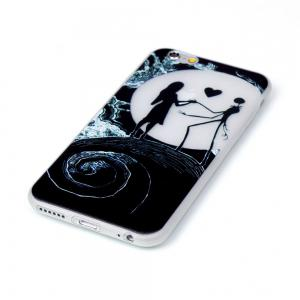 Moon Lovers Luminous Ultra Mince Slim TPU Silicone Case pour iPhone 6 Plus / 6s Plus -
