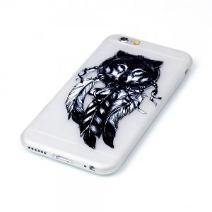 Wolf Luminous Ultra Thin Slim Soft TPU Silicone Case for iPhone 6 Plus / 6s Plus -