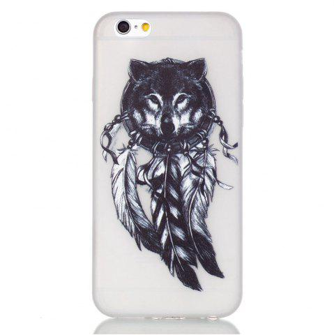 Chic Wolf Luminous Ultra Thin Slim Soft TPU Silicone Case for iPhone 6 Plus / 6s Plus