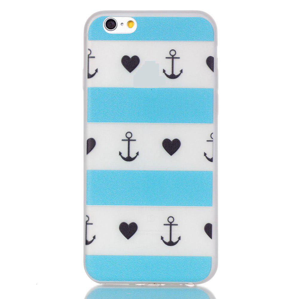 Lattice Luminous Ultra Mince Slim TPU Silicone Case pour iPhone 6 Plus / 6s Plus