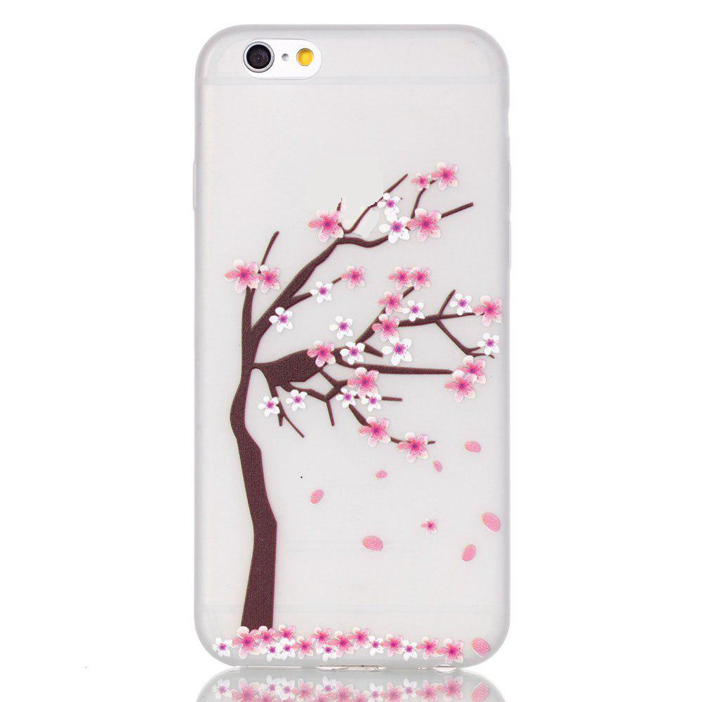 Store Peach Tree Luminous Ultra Thin Slim Soft TPU Silicone Case for iPhone 6 Plus / 6s Plus