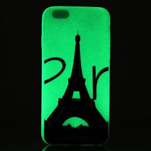 Tower Luminous Ultra Thin Slim Soft TPU Silicone Case for iPhone 6 Plus / 6s Plus -